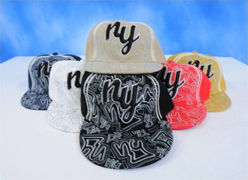 Wholesale New York FITTED Hats - FITTED CAPs - 1 Doz