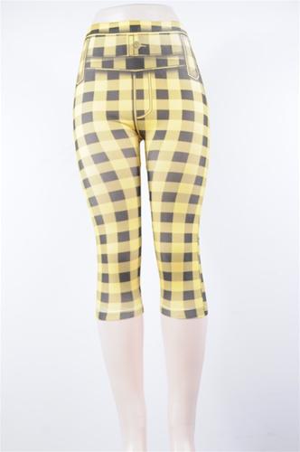 Wholesale Women's Spandex LEGGINGS | Checker Tights | 12 DZ