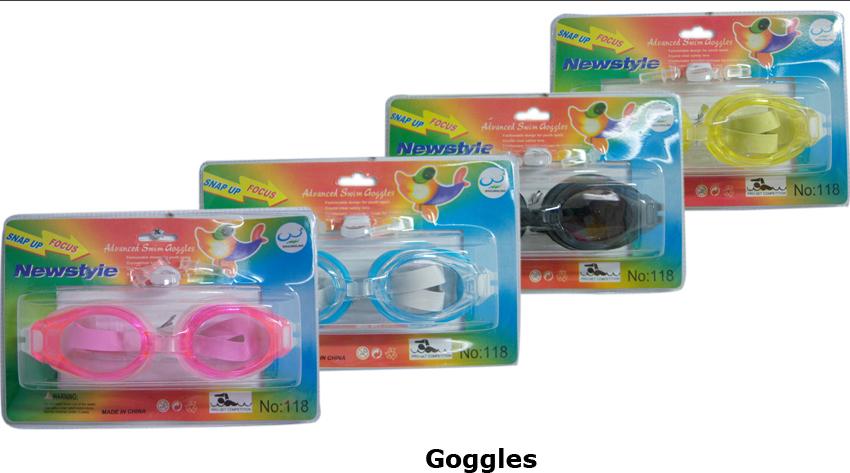 Wholesale Swimming GOGGLES - Swim GOGGLES - 24 Doz