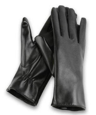 Wholesale Womenâ??s Thermal Long Wrist LEATHER Gloves â?? 12 Dz