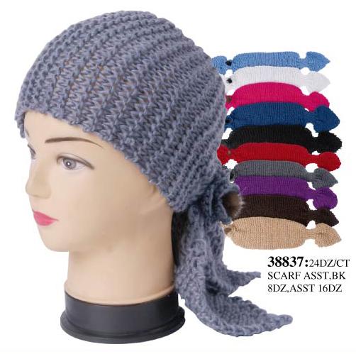 Wholesale Winter HEADBAND Scarf - Knit Earmuffs - 1 Doz