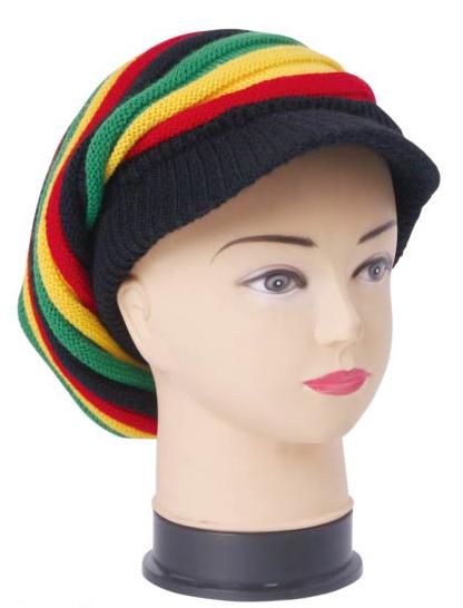 1e5e1b4837165 Wholesale Rasta Beanie - Rasta Hats - 24 Doz