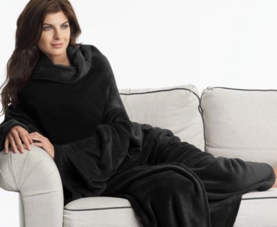 Women's Robe - Charter Club Throw BLANKET with Sleeves