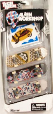 Tech Deck 3 Pack Finger Board 96MM SKATEBOARD - Alien Workshop