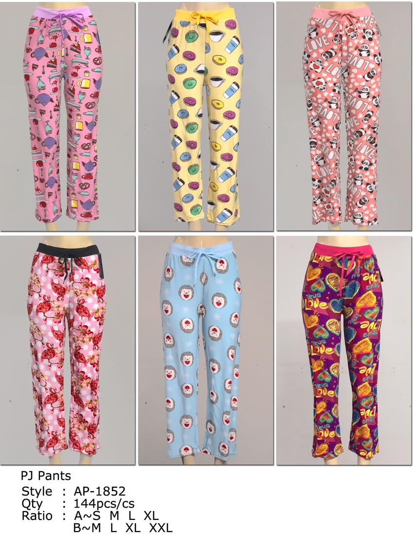 Wholesale Women s Fleece Pajama Pants - 6 Doz ebbbf7889