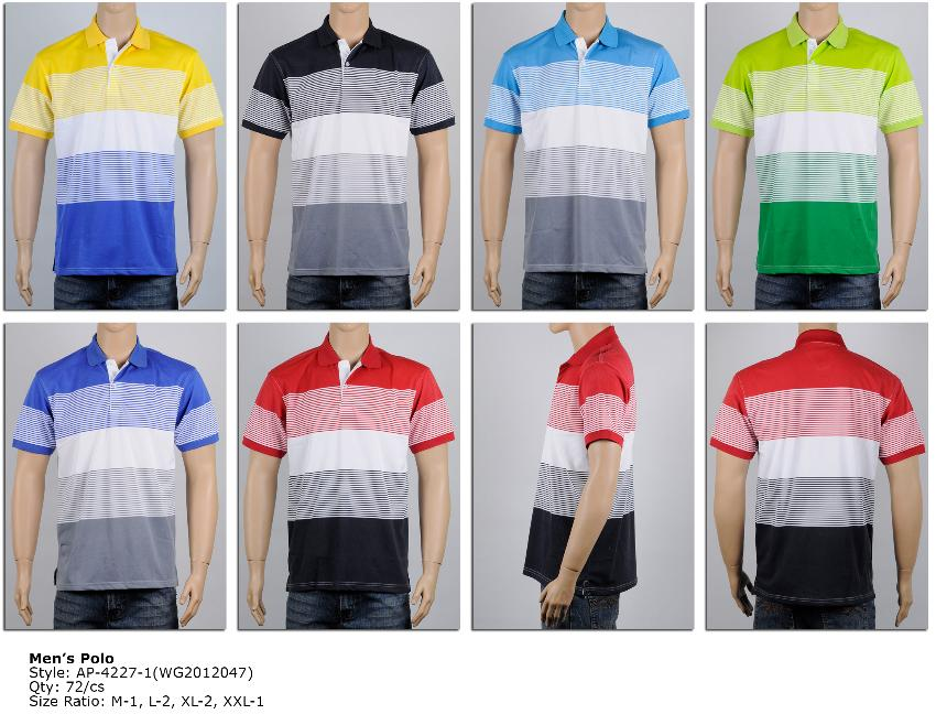Wholesale Men's Polo SHIRT - Men's Polo SHIRTs - 6 Doz