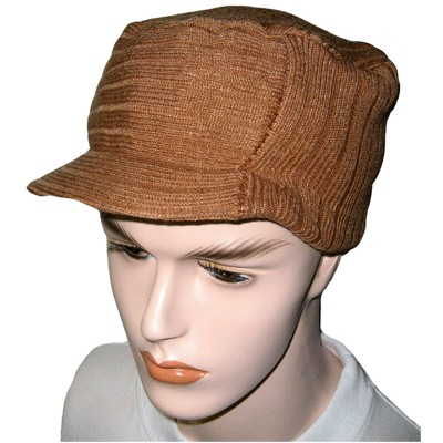 Knitting Patterns For Hats With Brims And Bills Including Newsboy Driving Cap More
