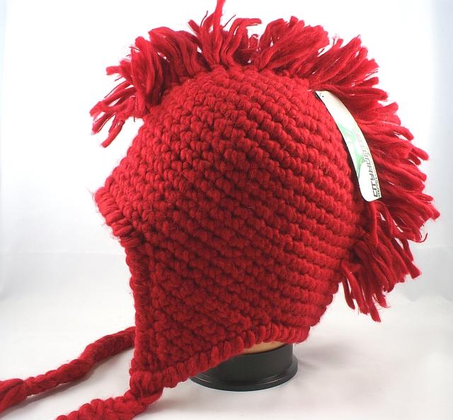 Wholesale Mohawk Crochet Earflap Hats Mohawk Winter Hats