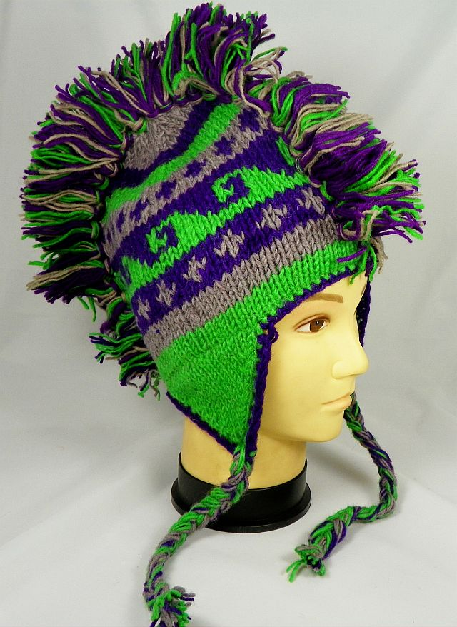 Wholesale Mohawk Hat Crochet Knit Mohawk