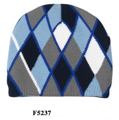 c55ffbada1a Wholesale Winter Hats - Argyle Beanie Hat - 24 Doz