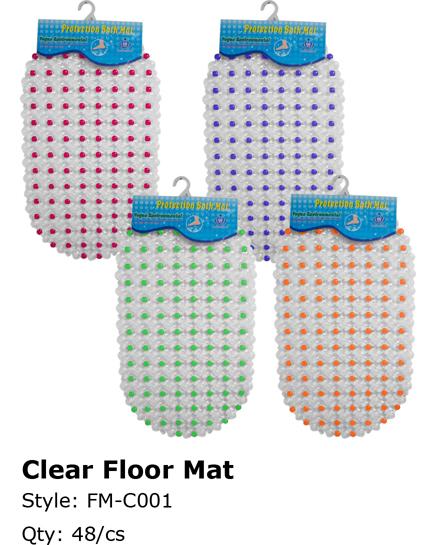 Wholesale Clear FLOOR MATs | FLOOR MAT | 48 Pieces
