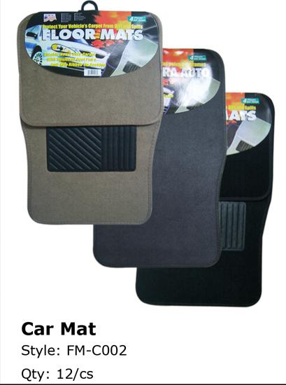 Wholesale Car MATs - Standard FLOOR MATs 4 Piece Sets - 1 Doz