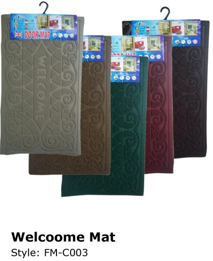 Wholesale DOOR Mats | Welcome Mats | 30 Pieces