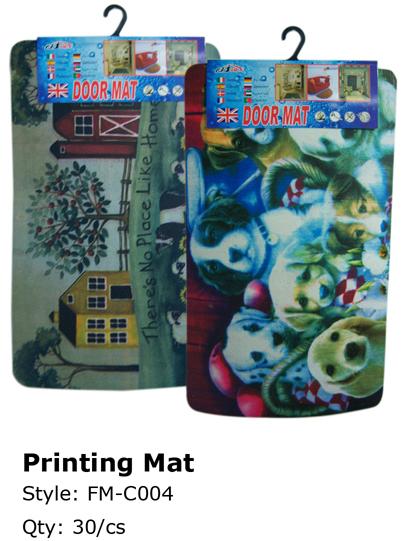 Wholesale Printed DOOR Mats | Welcome Mat | 30 Pieces