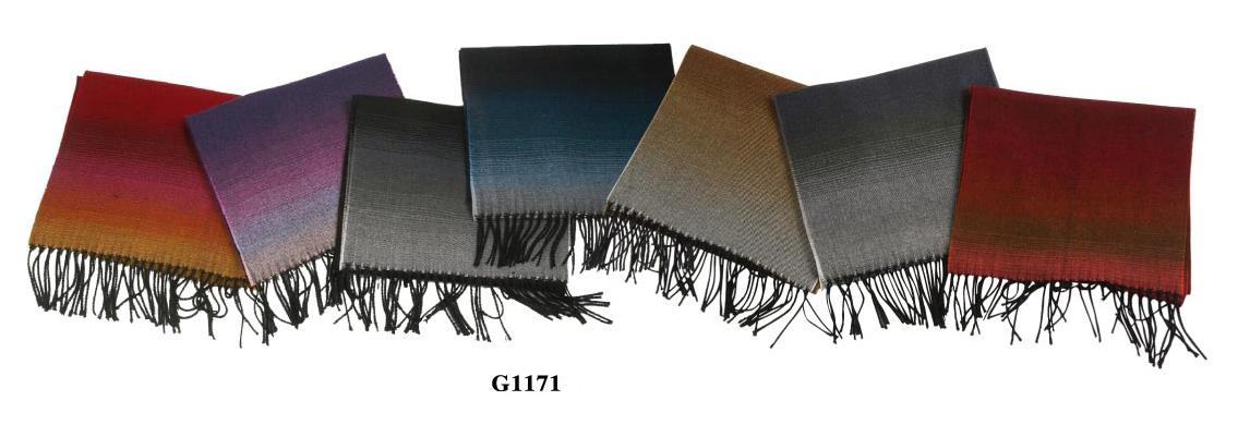 Wholesale PASHMINA Scarf - Faded Scarves - 1 Doz