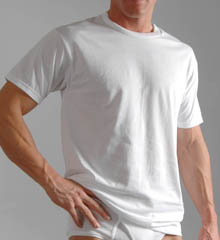 Hanes Crew Neck T-SHIRT - Slightly Imperfect Hanes T-SHIRT - 3 Pack