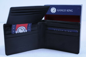 Wholesale Closeout â?? Menâ??s Kango King LEATHER Wallet â?? LEATHER Wallets - 4 DZ