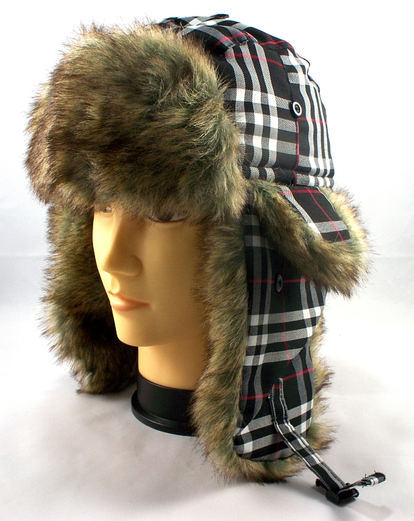 b6466507189 Wholesale Faux Fur Bomber Hat