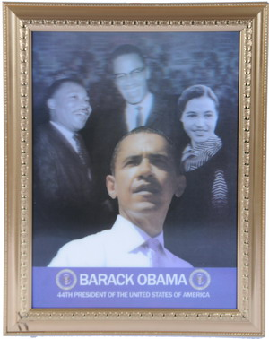 Wholesale Portrait Of President Barack Obama | Obama Picture in FRAME