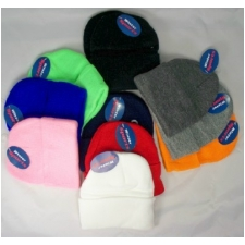 Wholesale Kids Toddlers Knit Hats - Kids Baby Skully - 12 Dz