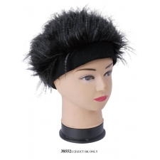 Wholesale Beanie - Feather Head Beanie Hats - 12 Doz