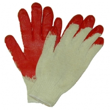 Wholesale Working Gloves - Red Latex Coated Work Gloves - 300 Pairs