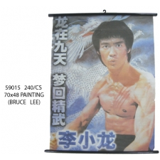 Wholesale Bruce Lee Posters - Bruce Lee Printed Picture - 1 Doz