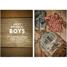 Lucky Brand Boys Thermal Tops - Boy Thermals
