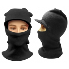Wholesale Balaclava - Single Hole Visor Full Facemask – 12 Doz