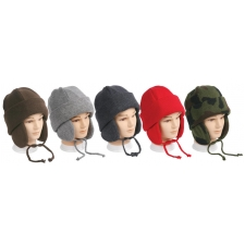 Wholesale Earflap Hats - Winter Hats - 1 Doz