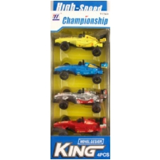 Wholesale 1:62 Scale Mini Racing Cars – 4 Piece Sets – 9 DZ