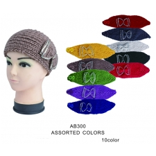Wholesale Headbands - Crochet Ear Warmers - 20 Doz