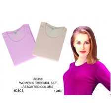 Wholesale Thermals - Women's Thermal Sets - 48 Sets