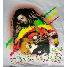 Wholesale Bob Marley Guitar T Shirt - Marley T-Shirts - 6 Doz