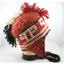 Wholesale Mohawk Hat - Mohawk Earflap Winter Hats 1 Doz