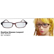 Wholesale Reading Glasses Leapard Print | Powers +1.00 - +4.00 | 24 Pairs