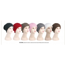 Wholesale Crochet Beanie Hat - 1 DZ