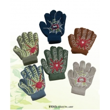 Wholesale Kids Magic Gloves with Spider Patterns - 24 Doz