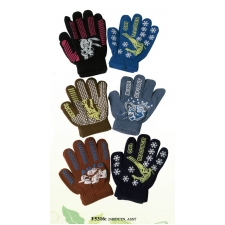 Wholesale Kids Magic Stretch Gloves - 12 Pairs