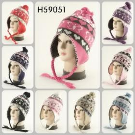 f8d84e73dfe Wholesale Ear-Flap Hats - Fleeced Lined Ear-Flap Hats - 12 Doz