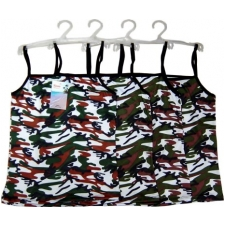 Wholesale Camouflage A Shirt with Hanger - 12 Doz