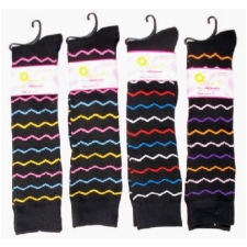 Wholesale Women's Spandex Knee High Socks - 240 Pairs