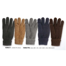 Wholesale Men's Chenille Thermal Insulated Gloves - 12 DZ