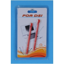 Wholesale 2 pieces Red Stylus pens for NDSi | 250 Packs