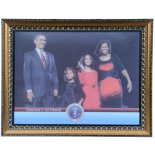 Wholesale Barack Obama Portrait - Obama Family Inauguration - 2 Doz