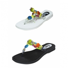 Wholesale Women's Sandals with Thong Straps - 36 Pairs