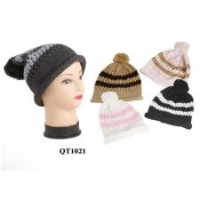 5587f33cf57 Wholesale Winter Beanies - Stripes Beanies - 1 Doz