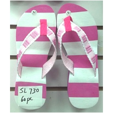Wholesale Wedge Sandlas with Stripe Sole - 60 Pairs