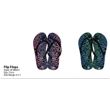 Wholesale Thong Flip Flops - Women's Sandals - 72 Pairs