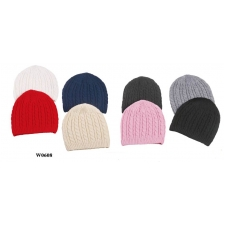 Wholesale Beanies - Ridge Beanie Hats - 24 Doz